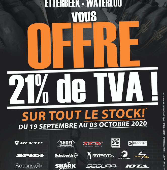 Bike Zone vous offre la TVA !