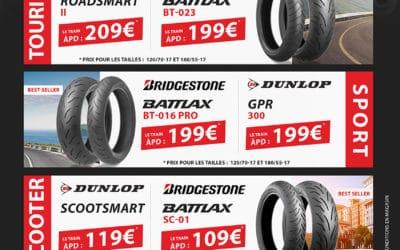 Le mois du pneu chez Bike Zone