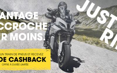 Dunlop : Jusqu'à 40€ de cashback sur les trains de pneus !